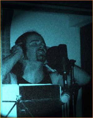 Alan in the studio